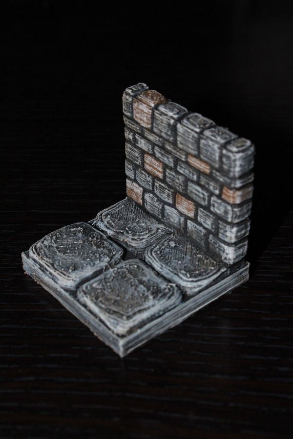 Medium OpenForge Stone Dungeon Walls 3D Printing 78579