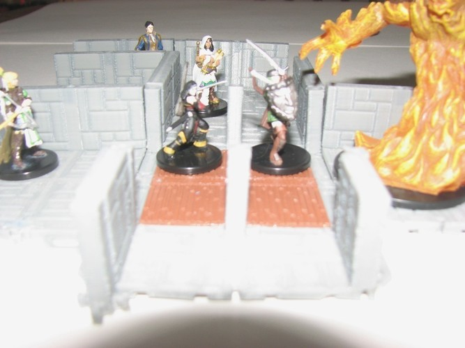 Customizable Dungeon Terrain 3D Print 78593