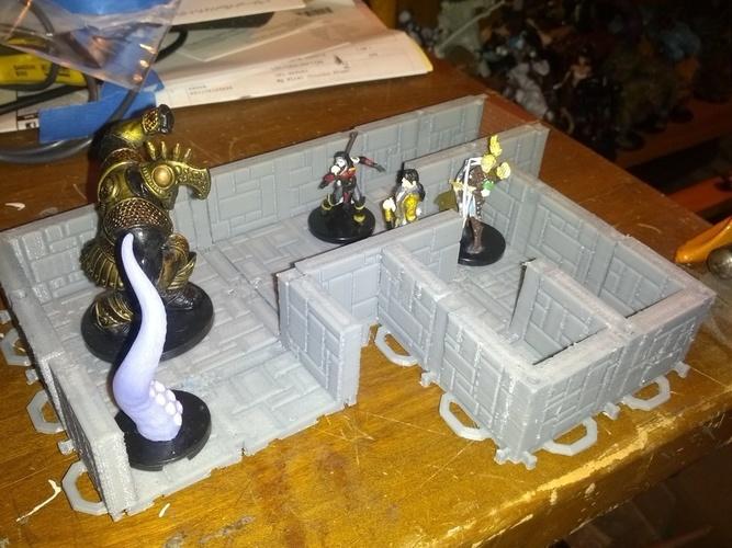 Customizable Dungeon Terrain 3D Print 78594