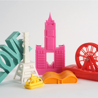 Small Famous Building Taiwan Kaohsiung City 3D Printing 78606