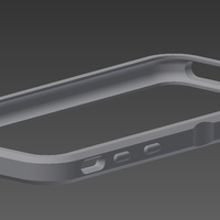 Small IPhone 6/6s bumper V2 3D Printing 78776