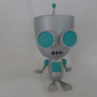 Small Gir From Invader Zim 3D Printing 78784