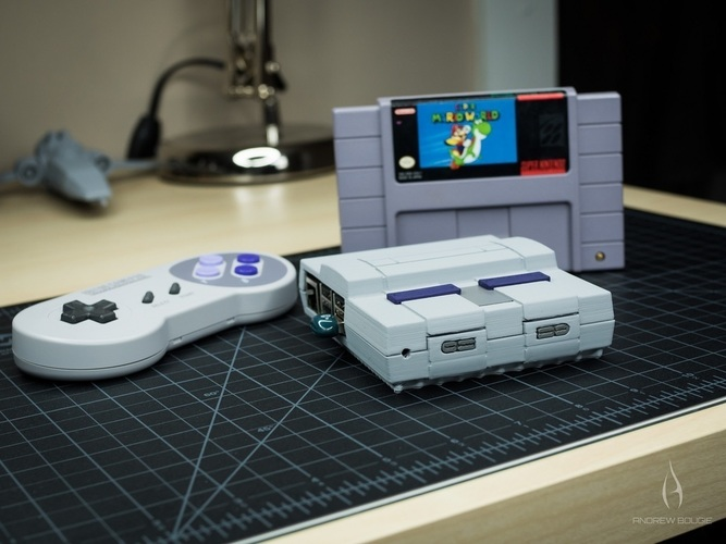 Mini SNES - Raspberry Pi 2/3 Case 3D Print 78955