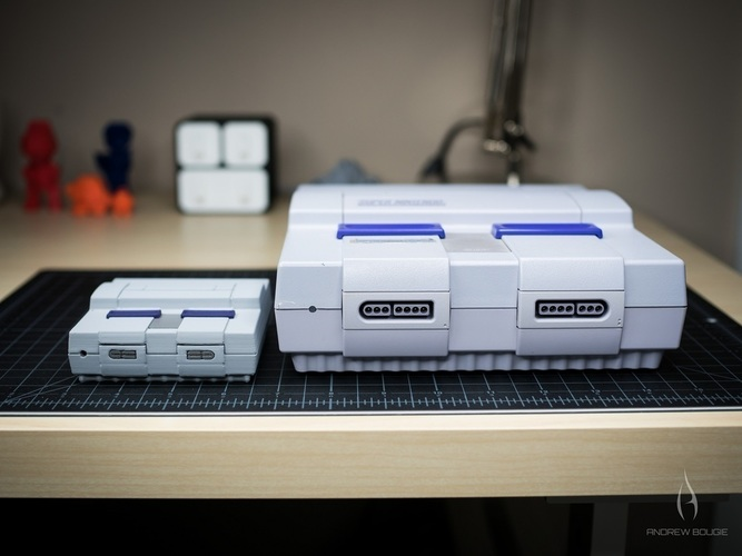 Mini SNES - Raspberry Pi 2/3 Case 3D Print 78956