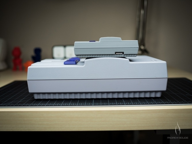 Mini SNES - Raspberry Pi 2/3 Case 3D Print 78959