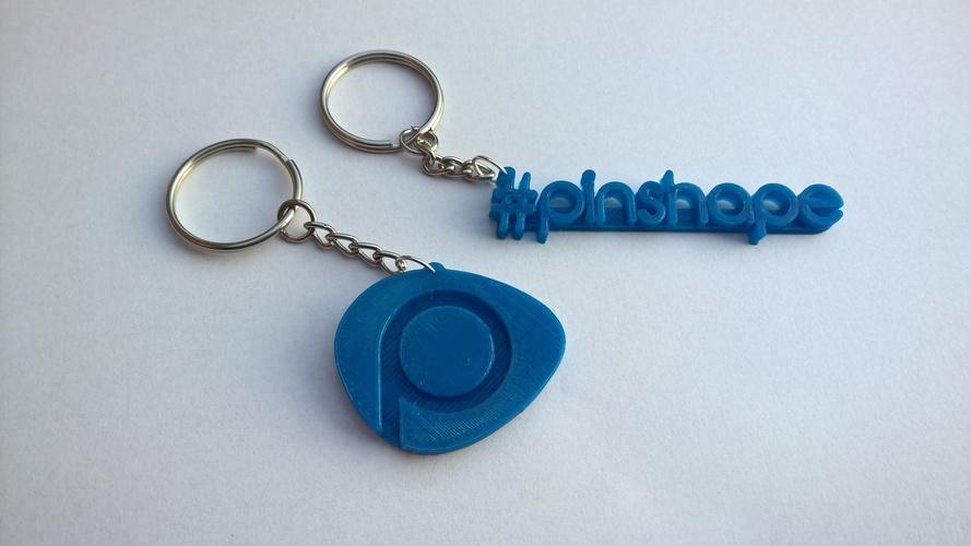 3d printed pinshape keychain by alen kuhta pinshape