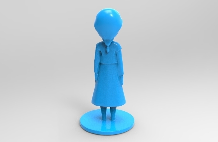 young elsa from frozen 3D Print 79097