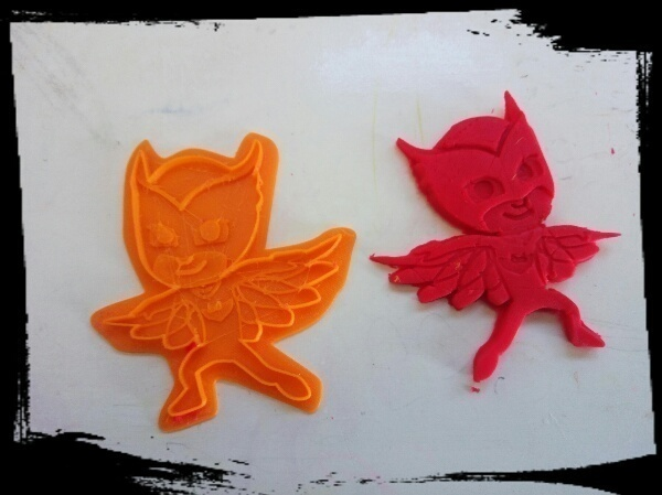 Medium PJ MASKS cookie / clay cutter - Owlette | Gekko | Catboy 3D Printing 79105