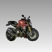 Small ducati monster 1200S 3D Printing 79293