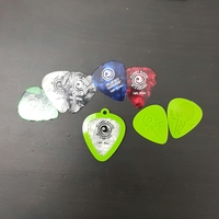 Small Guitar Pick holder - Pendant 3D Printing 79320