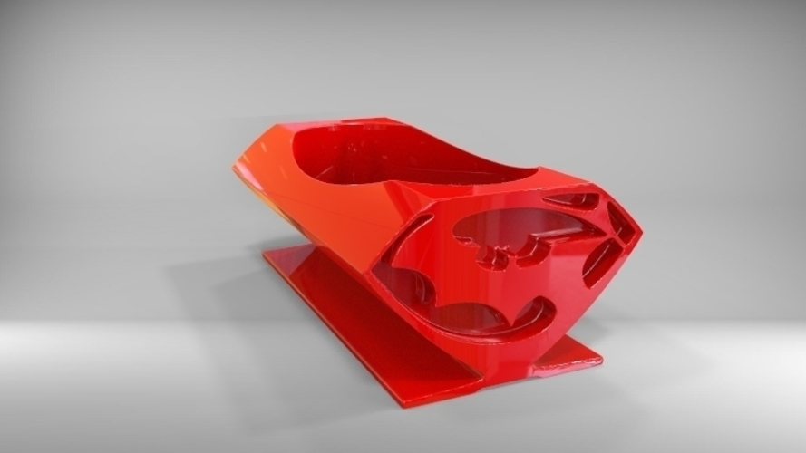 batman vs superman soap dish 3D Print 79534