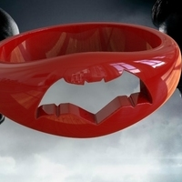 Small batman vs superman ring 2 3D Printing 79551