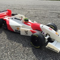 Small RS-01 Ayrton Senna's 1993 McLaren MP4/8 Formula 1 RC-Car 3D Printing 79615