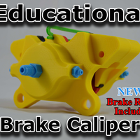 Small Educational Brake Caliper 3D Printing 79623
