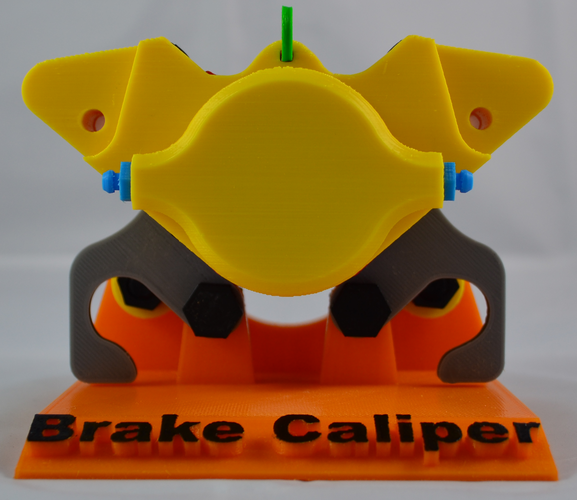 Educational Brake Caliper 3D Print 79625