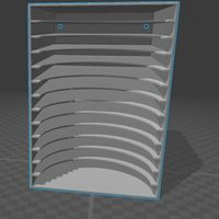 Small CD rack 3D Printing 79658