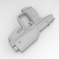 Small Space Marine Magnum 3D Printing 79742