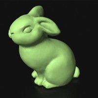 Small Bunny 3D Printing 80059