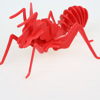 Small Red Ants 3D Printing 80127