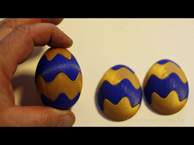 Easter Egg Maker 2016 Preview 3D Print 80147