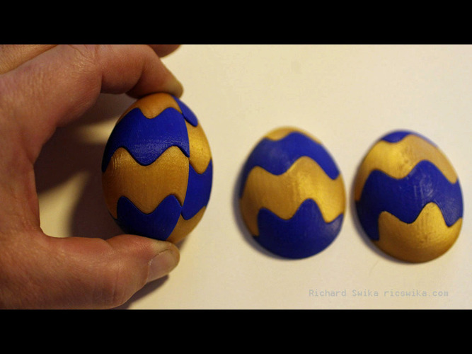 Easter Egg Maker 2016 Preview 3D Print 80148