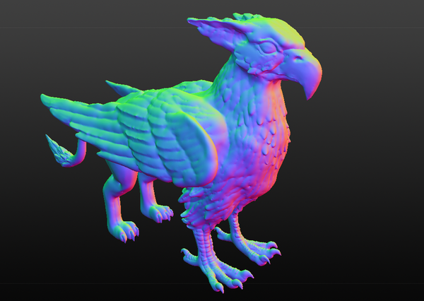 Medium Gryphon 3D Printing 80193