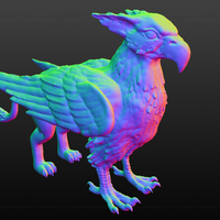 Small Gryphon 3D Printing 80193