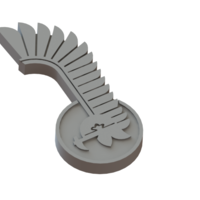 Small Hussars logo 3D Printing 80217