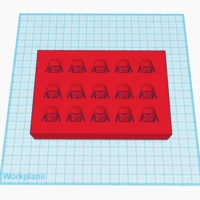 Small Vader Candy Mold 3D Printing 80365