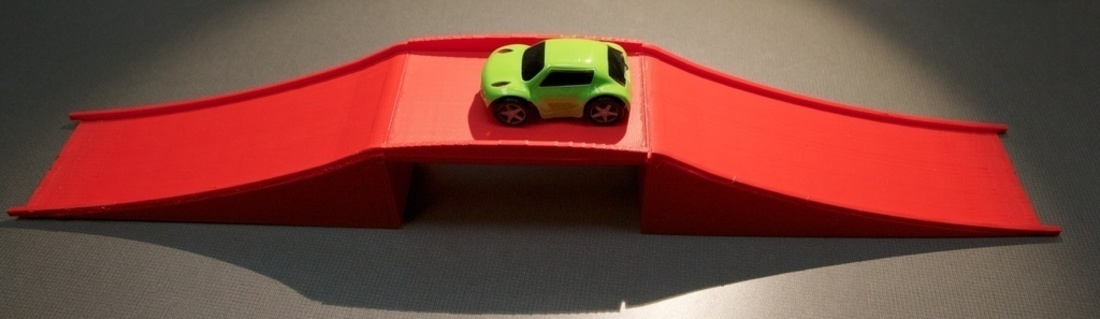 bridge for little remote control cars 3D Print 80369