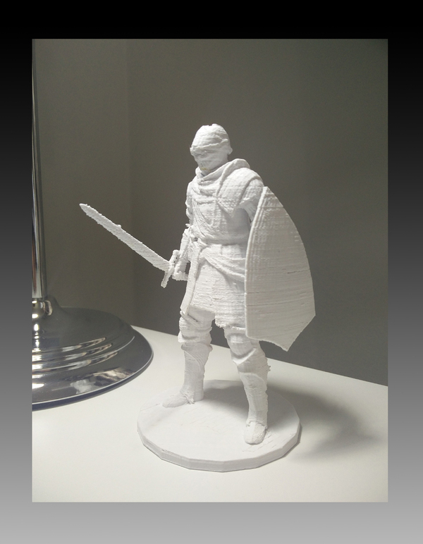 Medium Elite Knight - Dark souls  3D Printing 80383