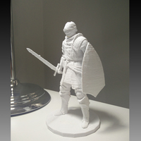 Small Elite Knight - Dark souls  3D Printing 80383