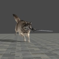 Small Sif, the Great Grey Wolf - Dark souls 3D Printing 80393