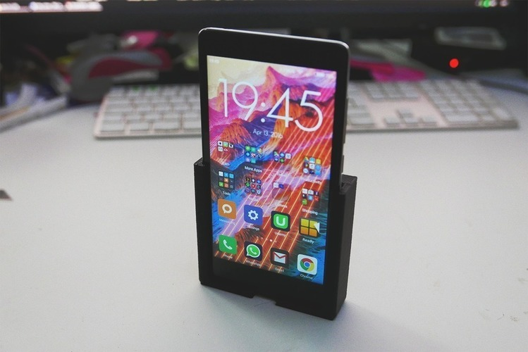 Xiaomi Redmi Note 4G mount/bracket/dock 3D Print 80581