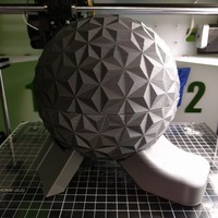 Small Spaceship Earth Candy Dish  3D Printing 80623