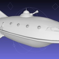 Small Planet Express (Updated) 3D Printing 80704