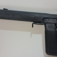 Small Welrod (WWII Silenced Pistol) 3D Printing 80724