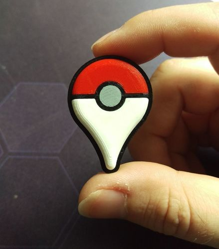 Pokemon Go Plus 3D Print 80744