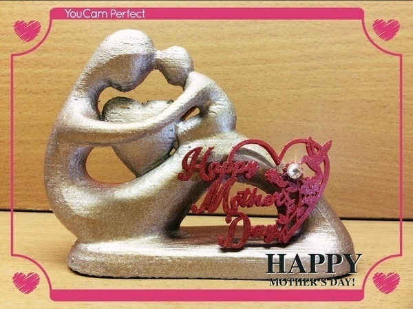 Medium Happy Mother Day 3D Printing 80840