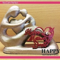 Small Happy Mother Day 3D Printing 80840