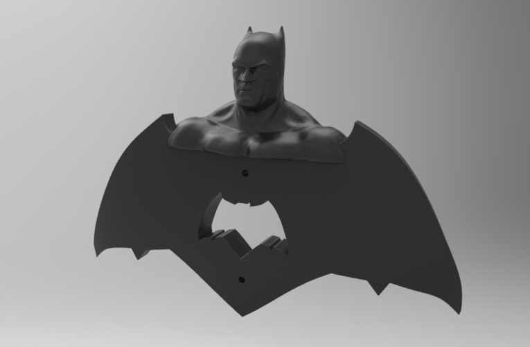 krypto batman light switches 3D Print 80857