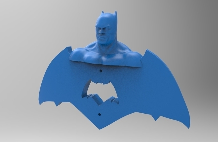 krypto batman light switches 3D Print 80858