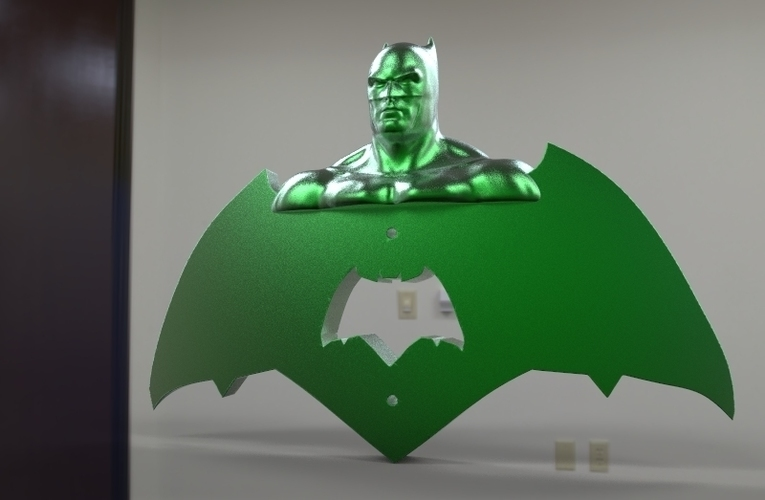 krypto batman light switches 3D Print 80924