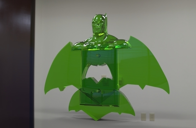 krypto batman light switches 3D Print 80930