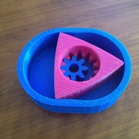 Small Wankel Rotary Engine Model 3D Printing 81012