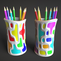 Small Pencils Holder 3D Printing 81127
