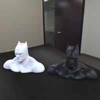 Small batman  salt and pepper shaker 3D Printing 81311