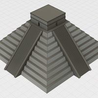 Small El Castillo at Chichen Itza 3D Printing 81558