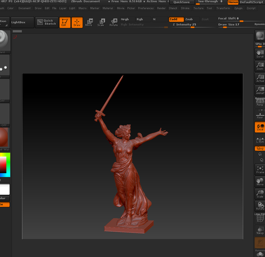 "The sculpture ""the Motherland calls!"" 3D Print 81561"