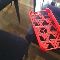 Small Troadey iPhone 4S Case 3D Printing 81965